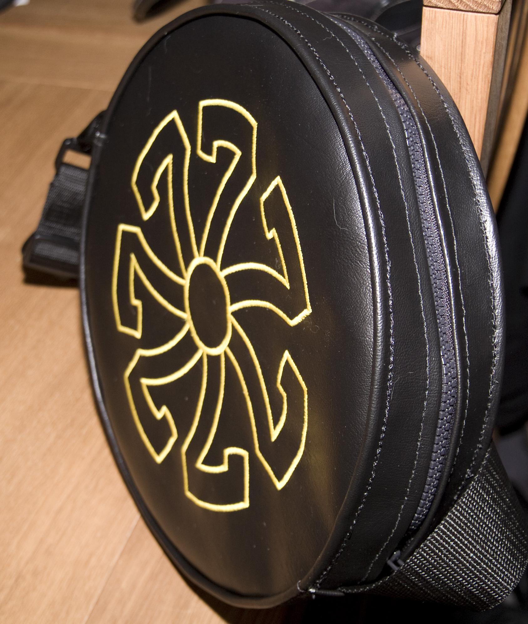 Steering wheel bag lesley storr designs